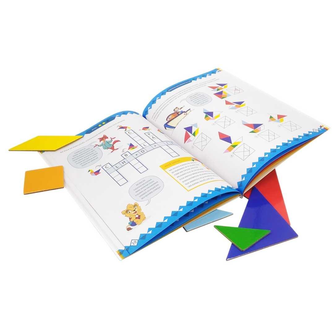 Tangram - livro com peças para brincar