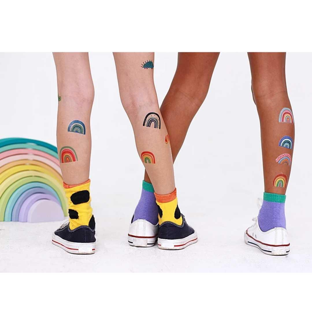 Tattoo Temporária Arco Íris