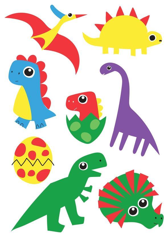 Tattoo Temporária Dinossauros