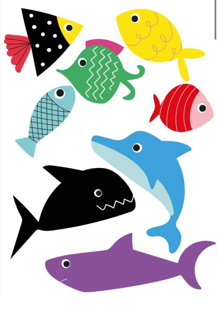Tattoo Temporária Peixes
