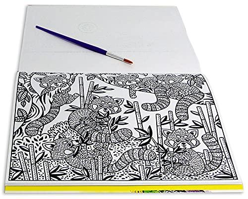 Zoológico - Livro Mágico para Colorir