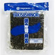 ALGA MARINHA YAKISUSHINORI PARA SUSHI E TEMAKI BLUE 50 FOLHAS TAKAOKAYA - 125G