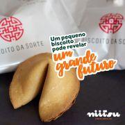 BISCOITO DA SORTE HAKUNA MATATA - 5 GRAMAS/ KIT COM 25 UNIDADES