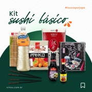 KIT SUSHI BÁSICO PARA SUSHI 8 ITENS