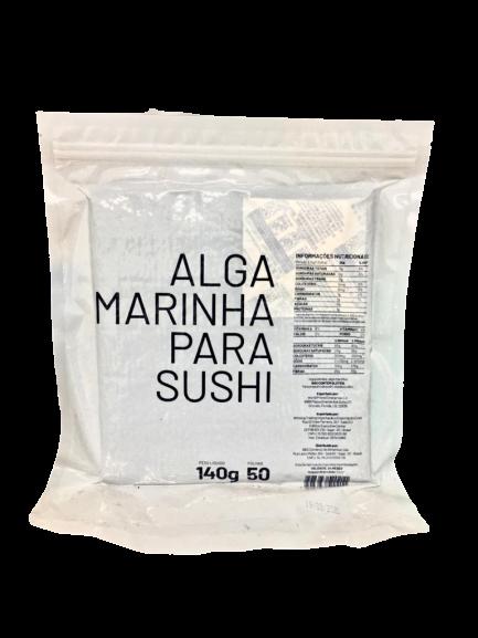 ALGA MARINHA NORI PREMIUM MAKI 50 FOLHAS - 140G