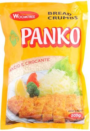 FARINHA PARA EMPANAR PANKO BREAD CRUMPS WOOMTREE – 200 G