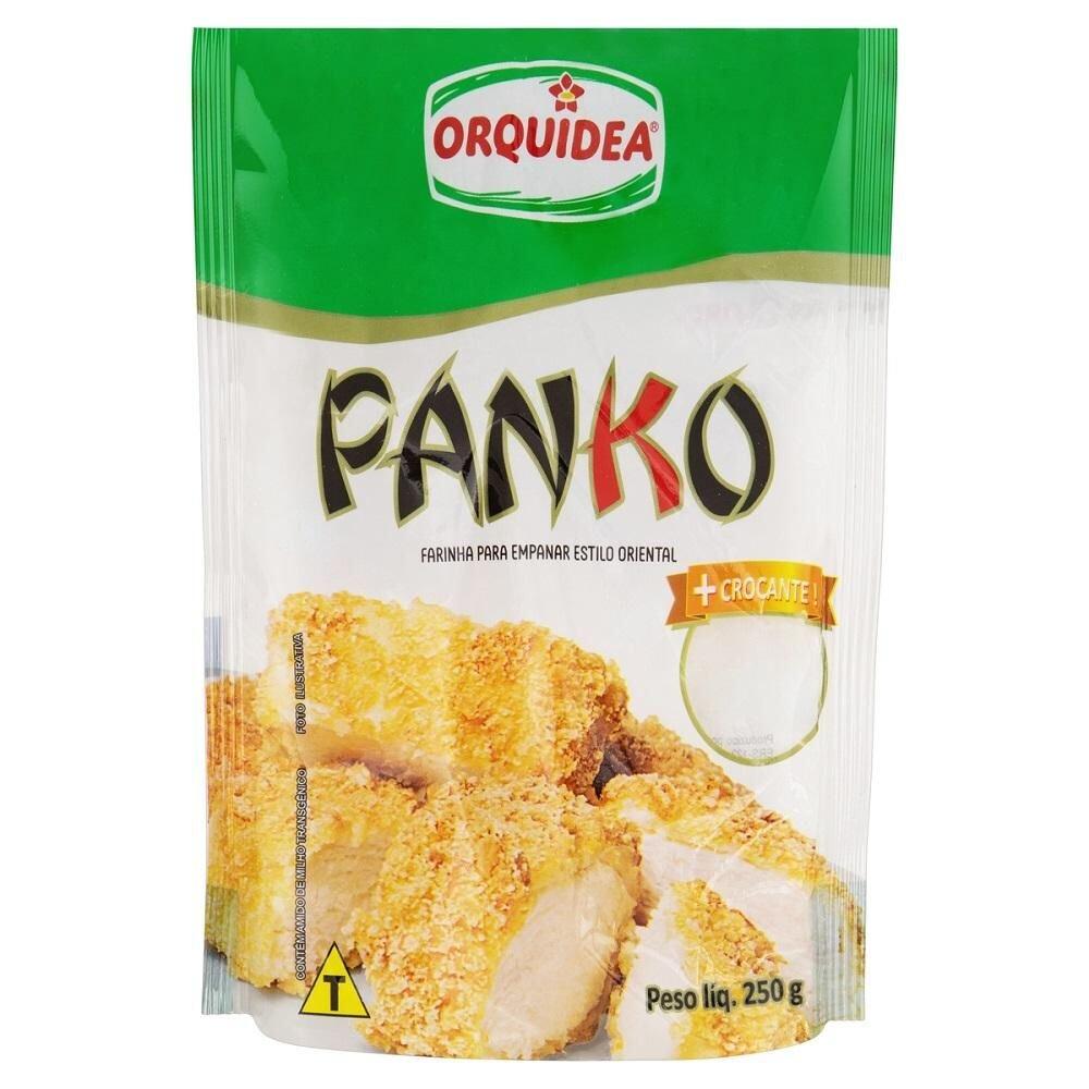 FARINHA PARA EMPANAR PANKO ORQUIDEA 250GR