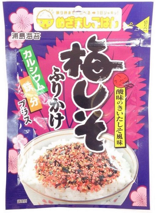 FURIKAKE TEMPERO PARA ARROZ - Ume Shiso Urashima 30 G