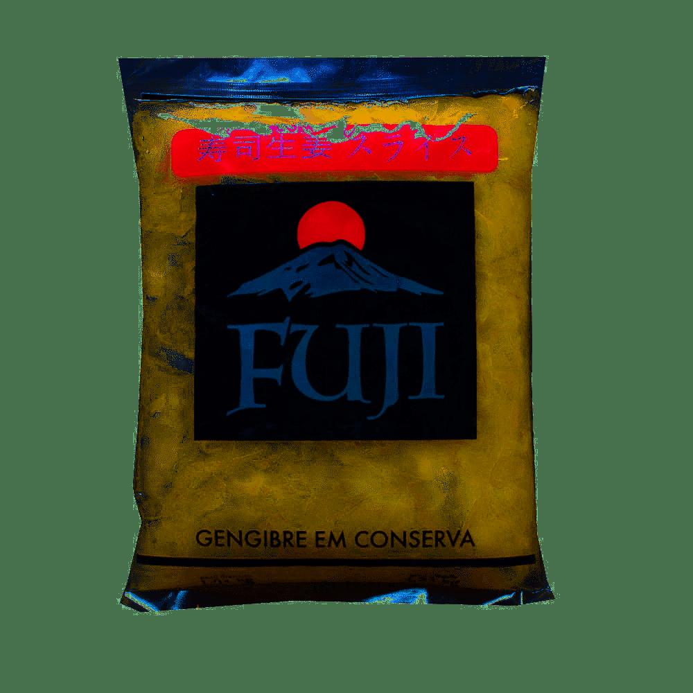 GENGIBRE EM CONSERVA FATIADO FUJI- 1KG LIQUIDO