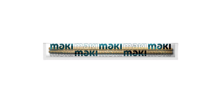 HASHI DE BAMBU WARIBASHI MAKI- 50 PARES