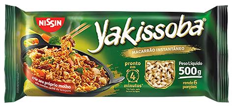 MACARRÃO INSTANTÂNEO PARA YAKISSOBA - 500G