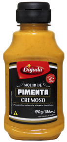 MOLHO DE PIMENTA CREMOSO D'AJUDA 190 G