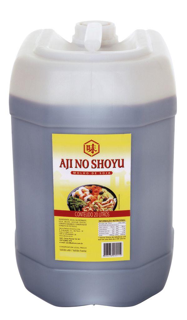 MOLHO SHOYU AJI NO SHOYU SAKURA - 20L