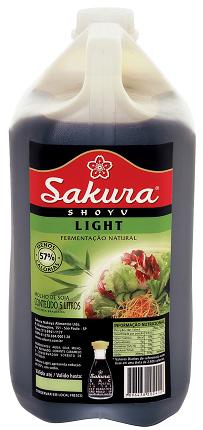 MOLHO SHOYU LIGHT SAKURA - 5L