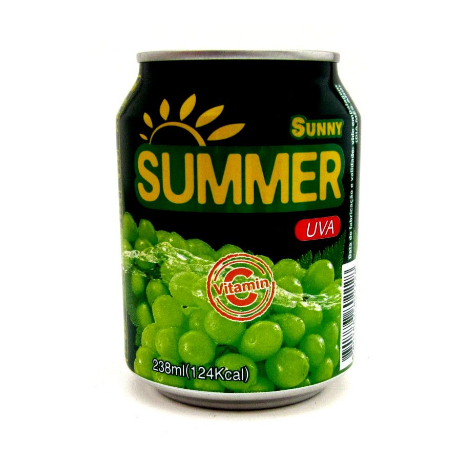 SUCO DE UVA GRAPE JUICE SUNNY SUMMER - 238 ML