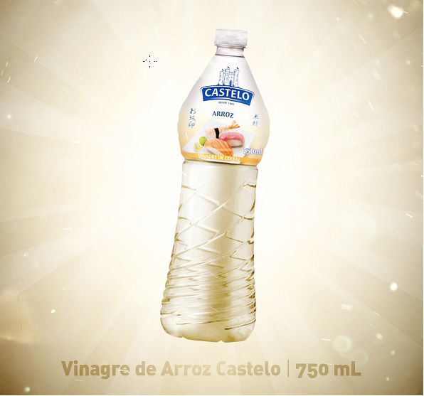 VINAGRE DE ARROZ CASTELO - 750ML