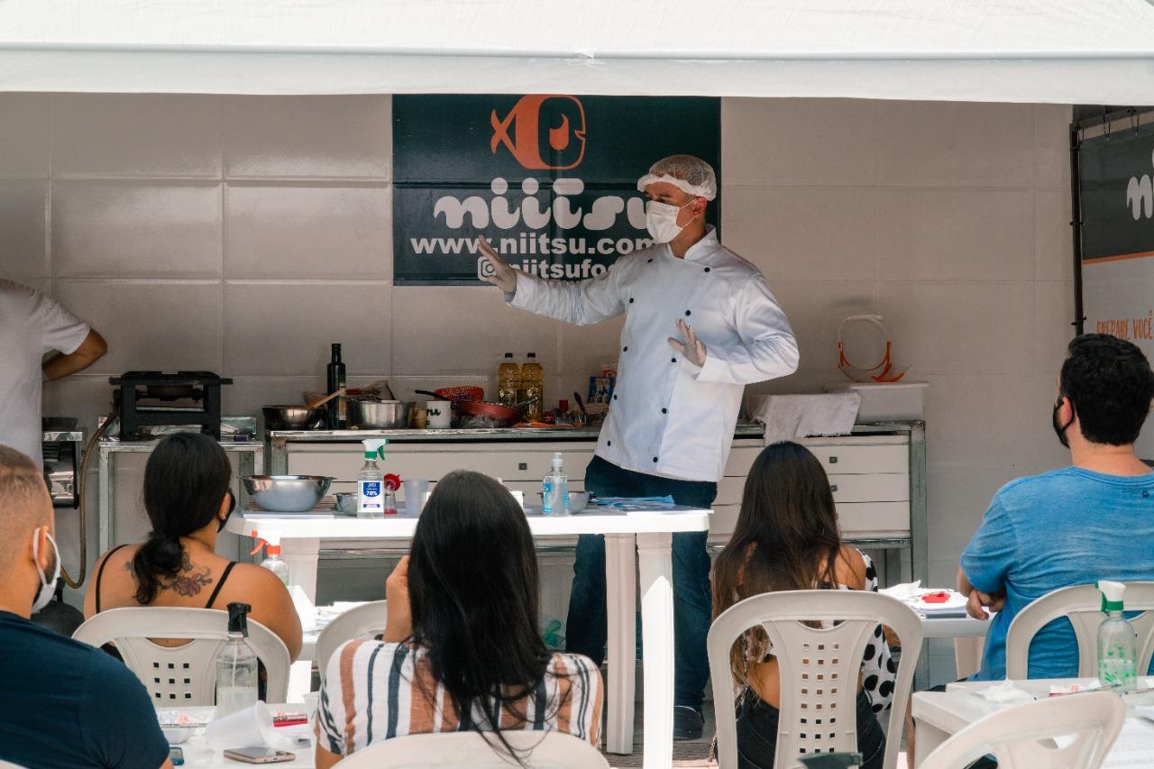 Workshop Presencial de Culinária Japonesa Niitsu 2021