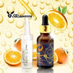 Elizavecca Milky Piggy Vitamin C 100% Powder + Vita-Multi Whitening Source Serum 30ml