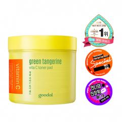 Goodal Green Tangerine Vita C Toner Pad (70 Sheets)