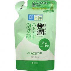 HadaLabo Gokujyun Pearl Barley Bubble Face Wash