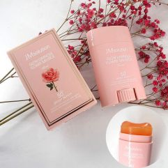 JMsolution Glow Luminous Flower Sun Stick Rose SPF50+ PA++++ 21g