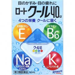 Rohto Cool 40 Alpha Vitamin 12ml