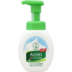 Rohto Mentholatum Acnes Medicated Bubble Wash Cleanser 160ml