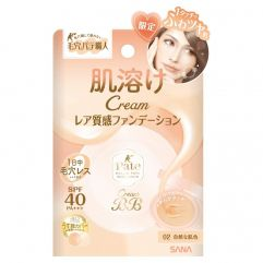 Sana Pore Putty Cream BB Pact SPF40+ PA+++ 9g