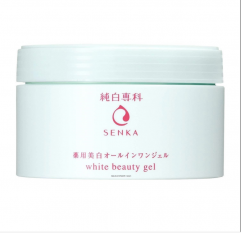 Shiseido Junpaku Senka White Beauty Gel 100g