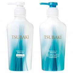 Shiseido Tsubaki Smooth Care - Kit Shampoo e Condicionador (315ml cada)
