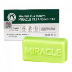 Some By Mi AHA.BHA.PHA 30 Days Miracle Cleansing Bar Soap 106g
