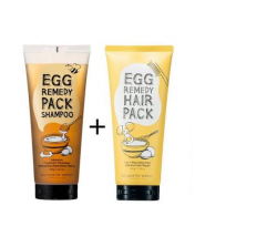 Too Cool For School Egg Remedy Hair Pack Set