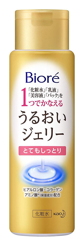 Bioré Uruoi Jelly Hydrating 4in1 Rich Moisture 180ml