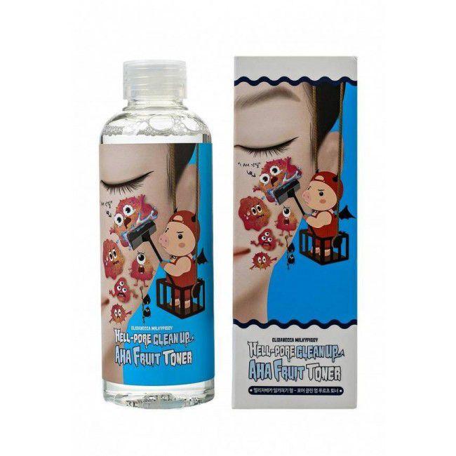 Elizavecca Milky Piggy Hell Pore Clean Up AHA Fruit Toner 200ml