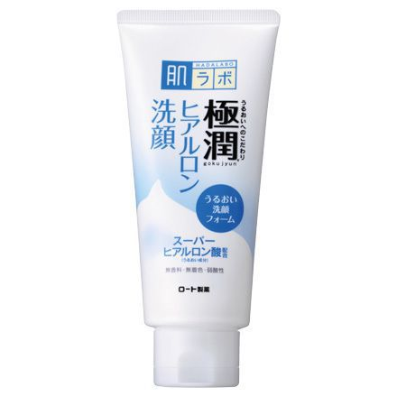 Hadalabo Gokujyun Hyaluronic Acid Foam Face Wash 100g