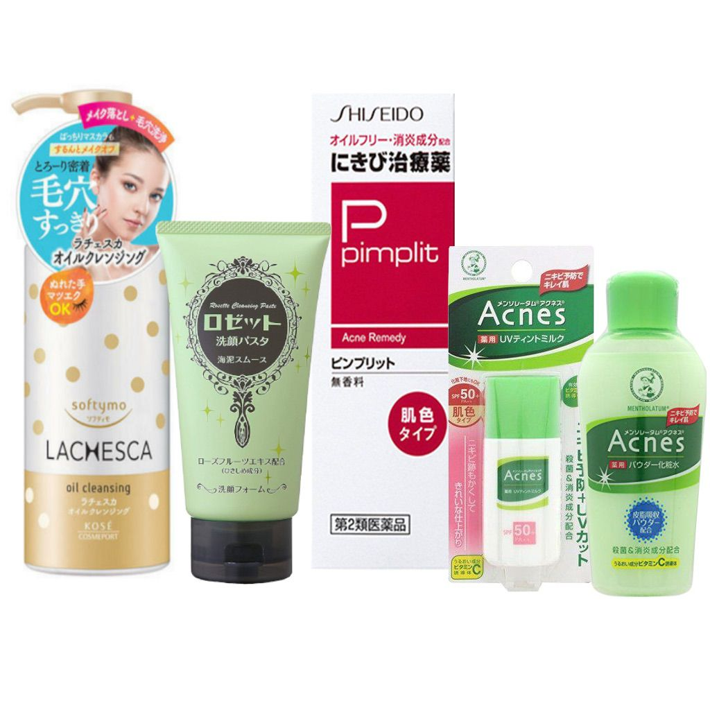 Kit Pele com Acne