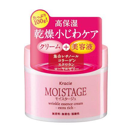 Kracie Moistage Wrinkle Essence Cream Extra Rich 100g