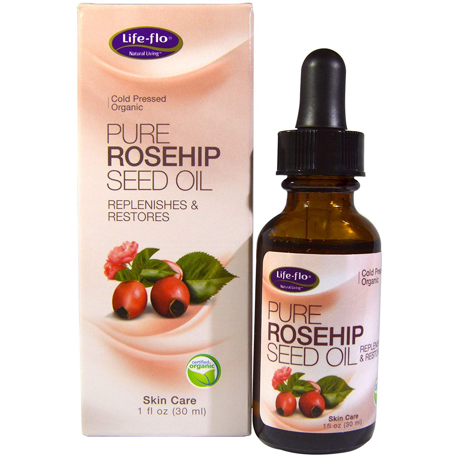 Life-flo Health Pure RoseHip Seed Oil 30ml