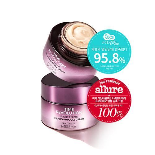 Missha Time Revolution Night Repair Probio Ampoule Cream 50ml