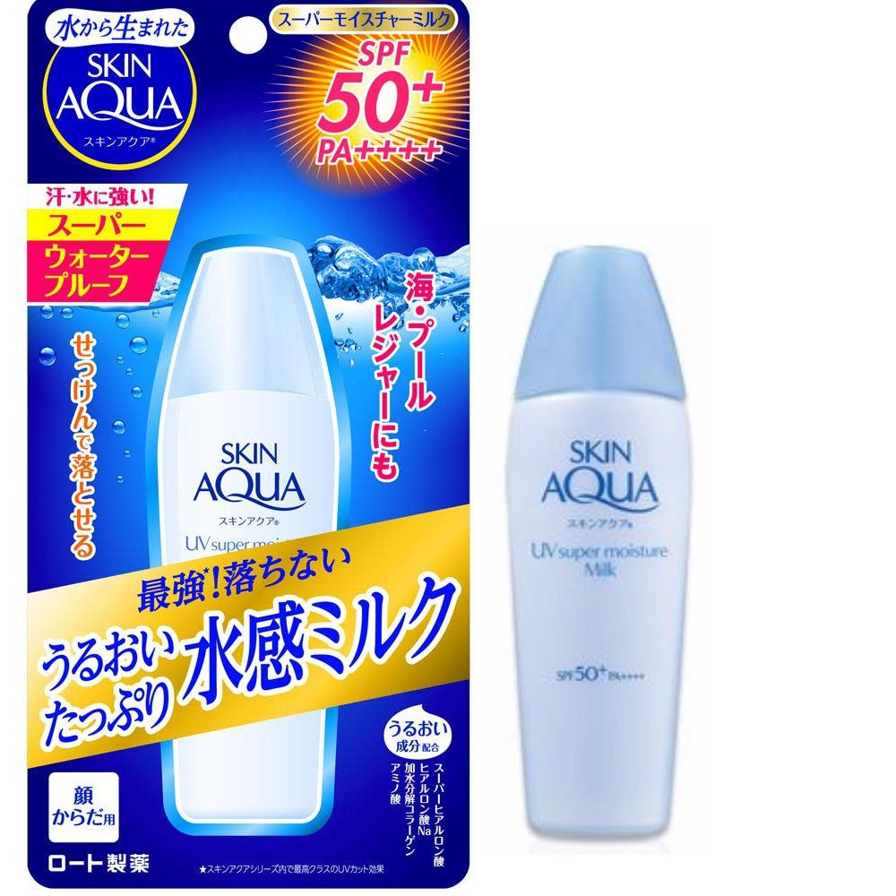 Skin Aqua UV Super Moisture Milk SPF50+ PA++++ 40ml