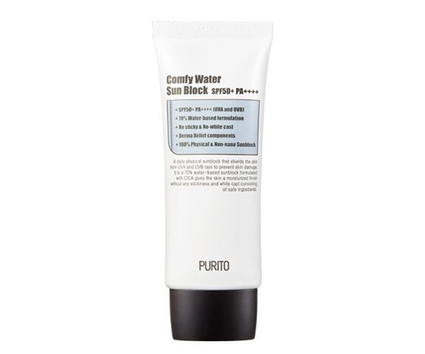 PURITO Comfy Water Sun Block SPF50+ PA++++ 60ml
