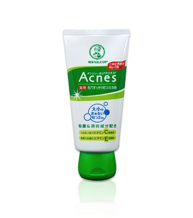 Rohto Mentholatum Acnes Medicated Pore Cleansing Face Wash 130ml