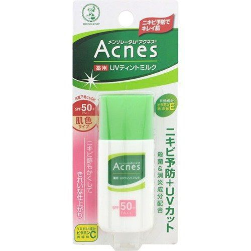 Rohto Mentholatum Acnes Medicated UV Milk SPF50+ PA++ 30g