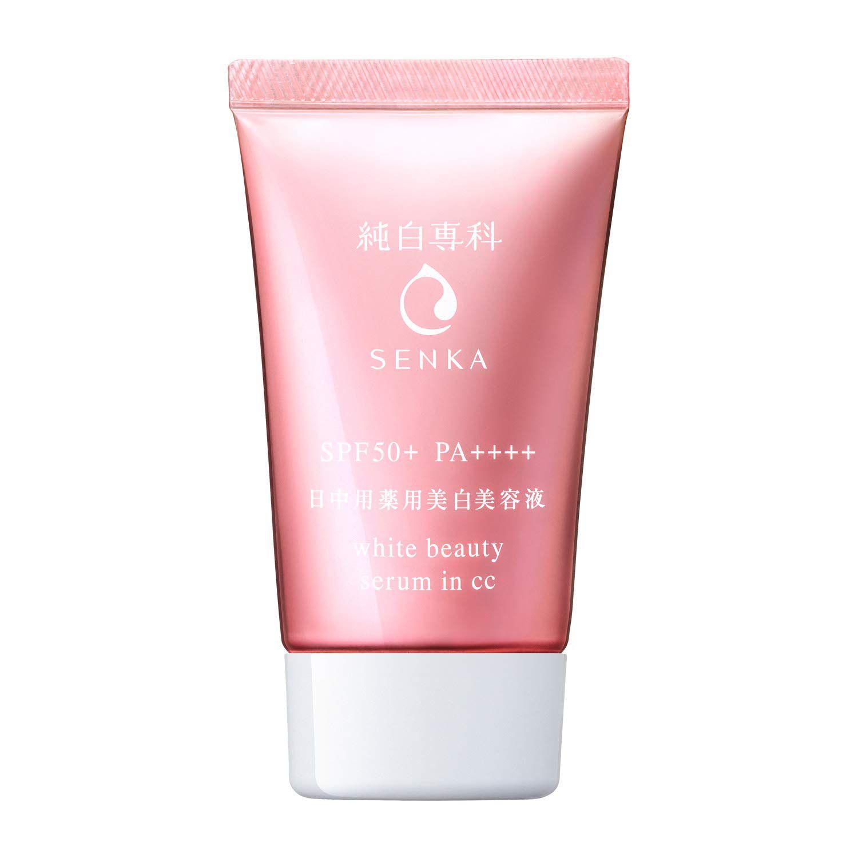 Shiseido Senka White Beauty Serum in CC SPF50+ PA++++ 40g