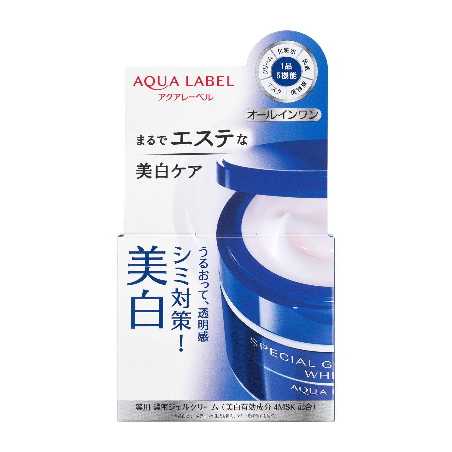 Shiseido Aqua Label Gel Cream White 90g