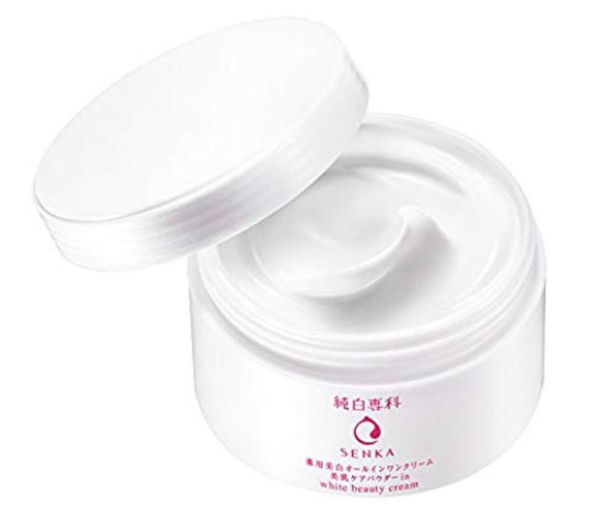 Shiseido Junpaku Senka White Beauty Cream 100g