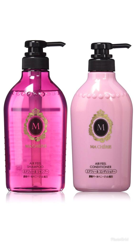 Shiseido Ma Chérie Air Feel - Kit Shampoo & Conditioner 380ml (cada)