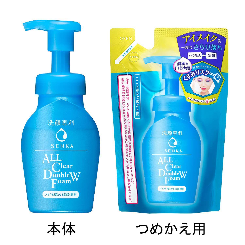 Shiseido Senka All Clear Double W Foam