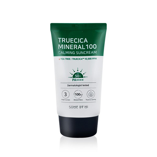 Some By Mi Truecica Mineral 100 Calming Sunscream SPF50+ PA++++ 50ml