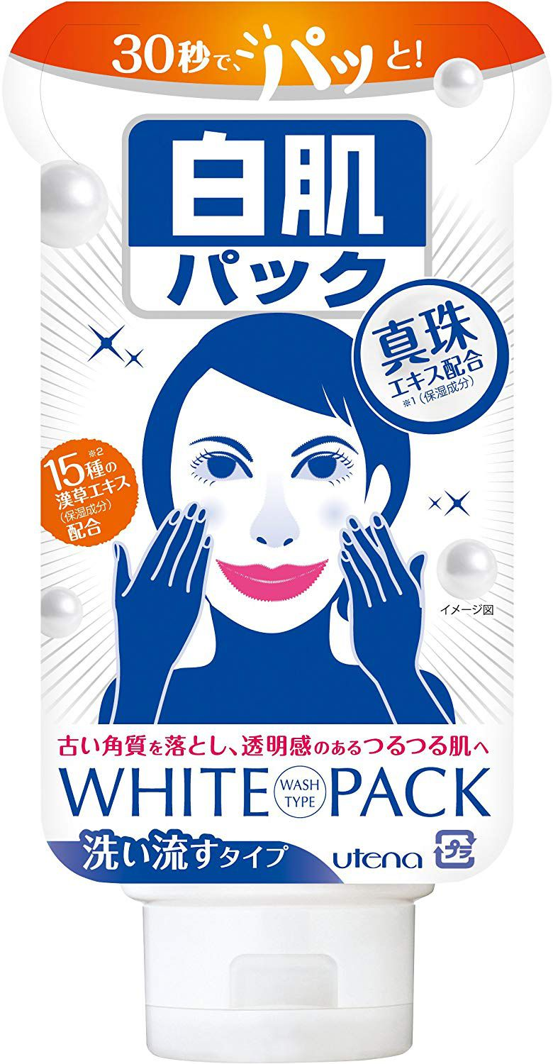 Utena Shirohada White Pack Wash Type 140g